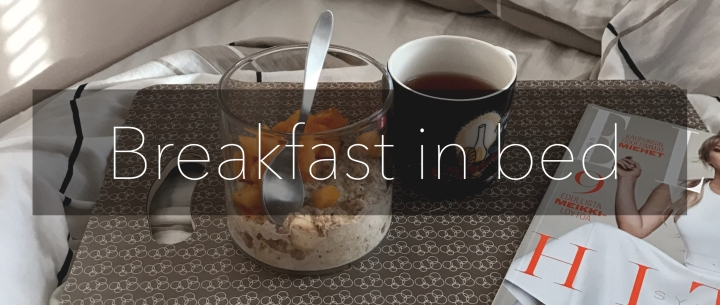Breakfast in bed | Overnight oats