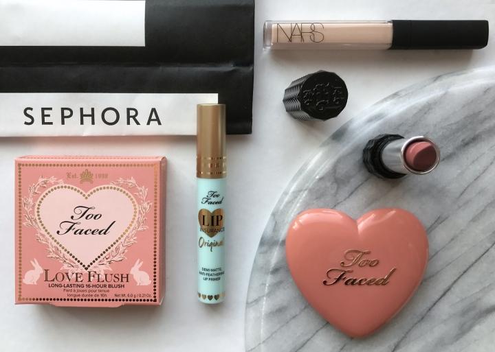Sephora haul + firstimpressions