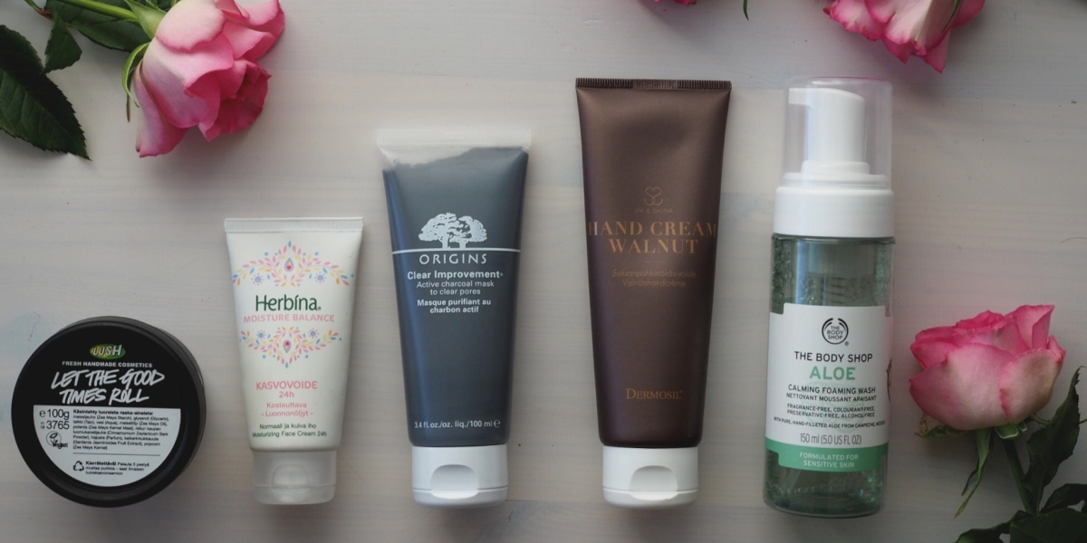 My favorite skincare products
